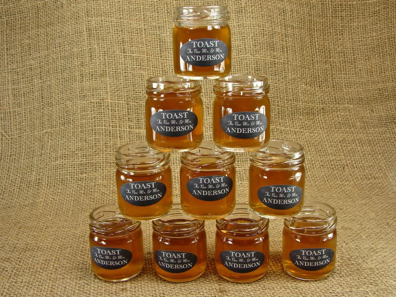 Personalized mason jar shot glasses chalkboard style label - Mason jar goblets ...