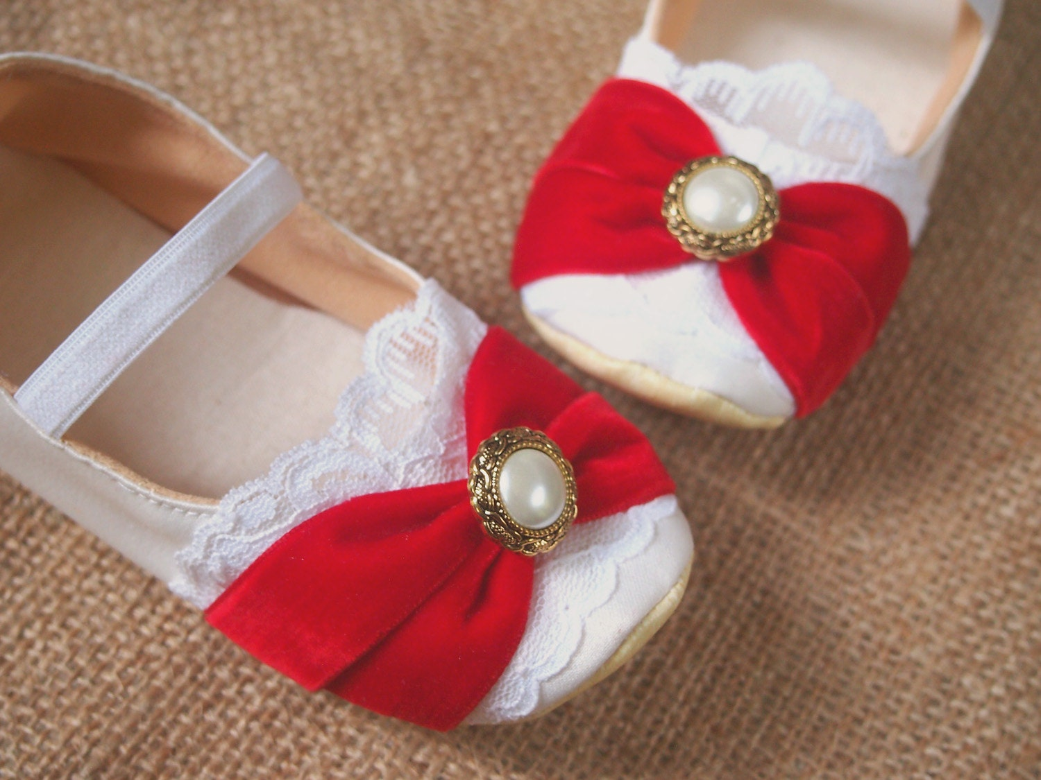 Red dress shoes for toddler girls