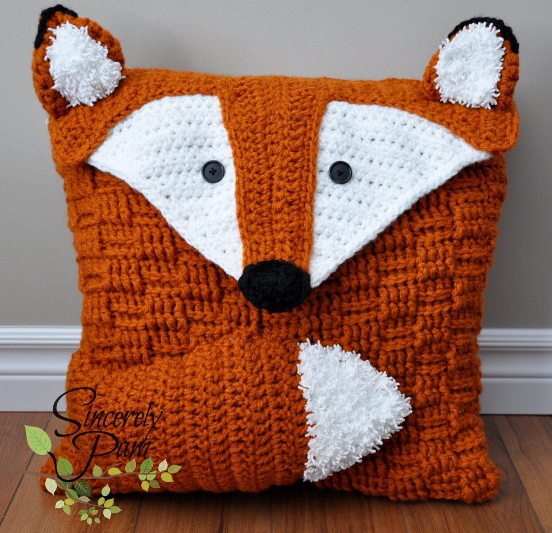 Animal Pillow Pack Crochet PATTERNS pdf