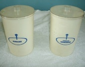 2 Candy Cookie Jars Medical Surgical Doctor Opaque Plastic Jars Exam Rm
