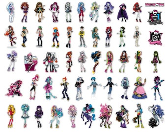 CT-001 MONSTER HIGH characters' cliparts, Clip Art