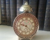 Vintage Avon Floral Clock Perfume Bottle
