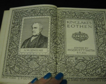 Kingslake's Eothen - 1928 -  King's Treasures of Literature