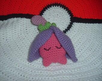 Crochet Pokemon Cherrim Overcast form