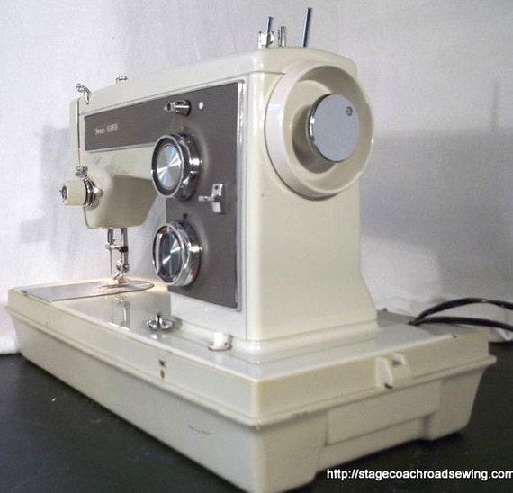 Restored Kenmore 158 14100 Vintage Sewing Machine W Guaranty