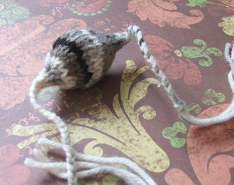 Handmade Knitted Cat Toy