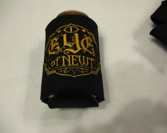 Eye of Newt on Black Can Cooler