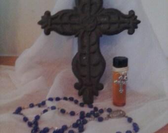 Holy oil, blessed oil, religious, spiritual, Catholic oil, blessing oil