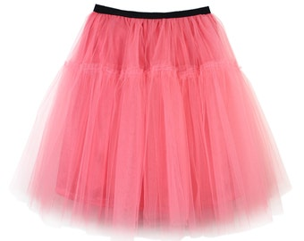 Tulle skirt princess rose color | tutu | wedding | party | grace | engagement | sweet rose | wedding style