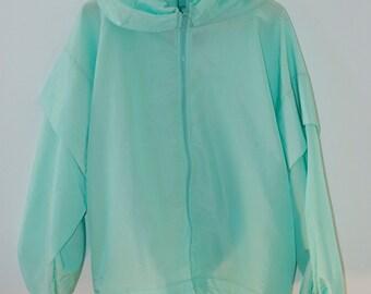 Bright 90's Aqua Jacket