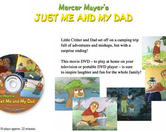 Little Critter Movie - Just Me And My Dad - DVD - Free Shipping