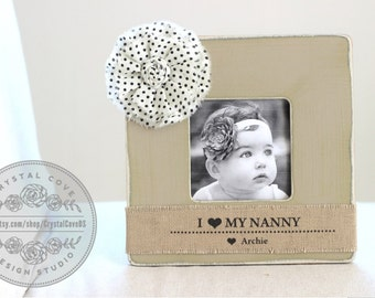 Gift for Grandma Grandmother Personalized Picture Frame from Grandchildren Nanny Nana Yaya Granny