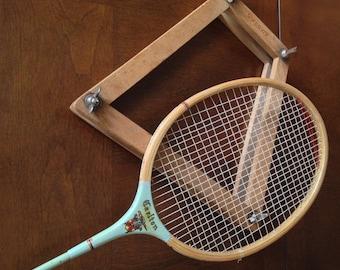 Vintage Wooden Slazenger Badminton Raquet