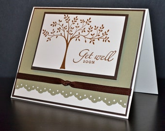 Get Well Card, Handmade Card, Stampin' Up Card