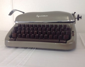 Optima Elite Typewriter Elite 3