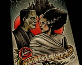 Our Love is Dead Art Print