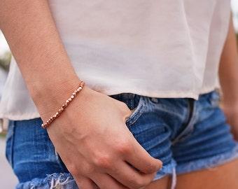 Modernes Kupferarmband: Kupfer Armreif, Geschenkidee, Trendschmuck, fashion accessoir, Geburtstaggeschenk, kupferschmuck