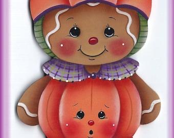 Pumpkin Gingerbread Painting E-Pattern