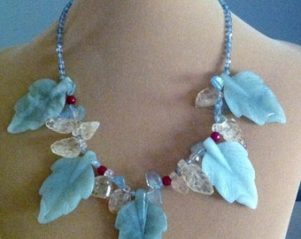 Leaves of Glass Necklace
