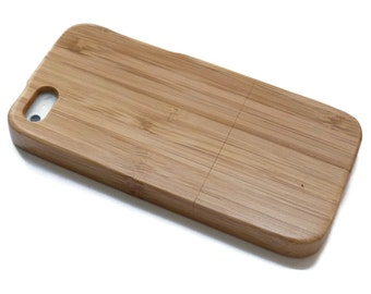 Iphone 7 PLUS case wood - wooden iphone 7 PLUS case walnut, cherry or bamboo wood - real wood.
