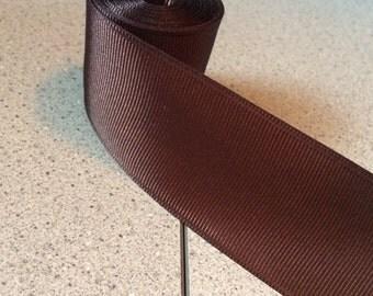 Brown Ribbon-6 1/2 yards-1 1/2 inch