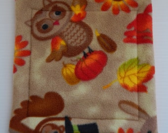 Potty pad for Cavy Shacks in Thankful animals and orange