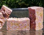 Tough Girl Soap in Strawberry Removes Heavy Duty Dirt, Softens Skin