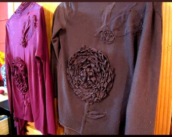 Under His Wings- Hand Made Custom Sweater, All Colors, Anthropologie Inspired