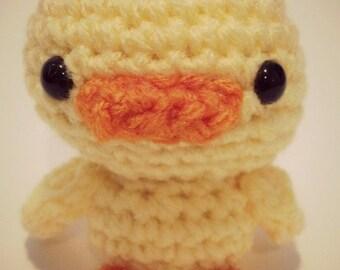 Amigurumi Duckling  - Crochet Animal Plush