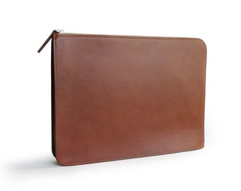 Macbook Laptop Sleeve - Handmade/Full-grain Leather