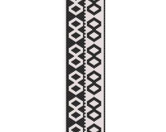 Infinity Peyote Cuff Bracelet Pattern