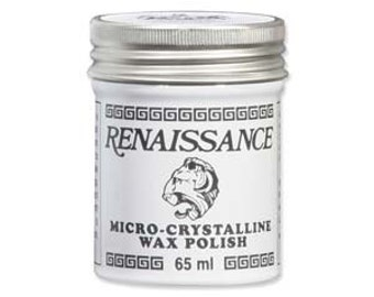 Renaissance Wax- Precious Metal Sealant- Preservation Of Metal Pieces- Metal Stamping Supplies- Jewelry Stamping Seal- SGRW2
