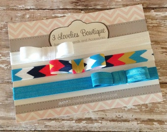3 Baby Bow Headbands, Baby Headband, Newborn Headband, Headband, Baby Headbands, Baby Girl Headband, Infant Headband