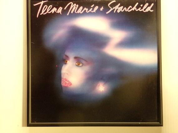 Glittered Record Album - Teena Marie & Starchild