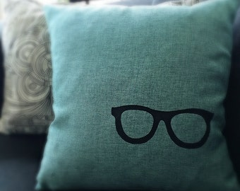 Funky Eye Glasses Pillow Case ON SALE