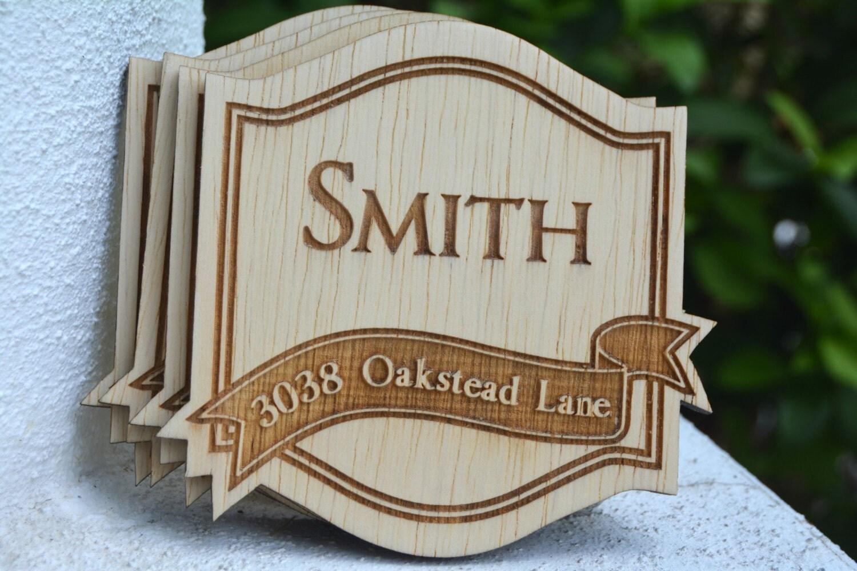Personalized Coasters Wedding Gift