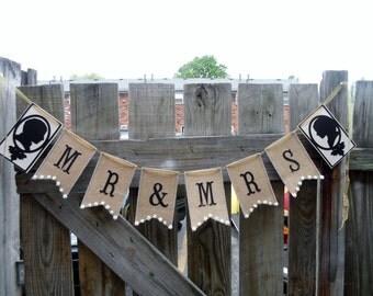 burlap banner beautiful handmade unique elegant