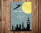 Peter Pan, Printable Birthday Invitation