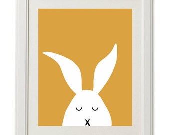 Francis the Bunny Rabbit, Nursery Printable