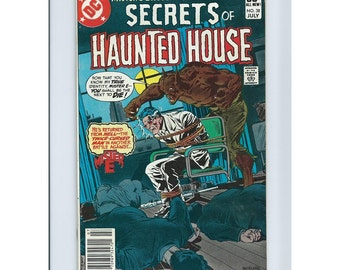 Secrets of Haunted House #38 - DC Comic Book, Comic Books and Collectibles.