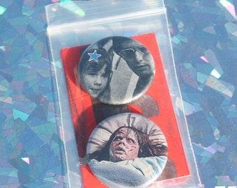The Exorcist Vintage Button Set