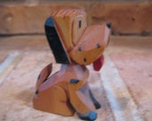 charming one-of-a-kind carved vintage dog - Compilation