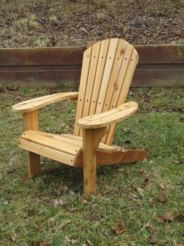 western cedar adirondack chair finish