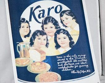 Karo Syrup Ad