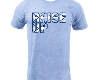 UNC Raise Up Argyle - Athletic Blue