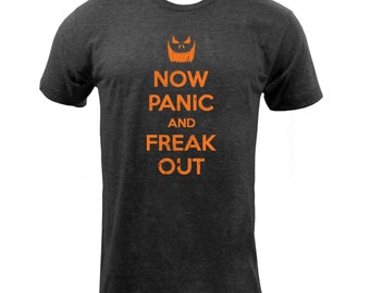 Now Panic and Freak Out Distressed - Tri Black