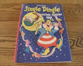 Jingle Dingle Christmas Stocking Book 1953