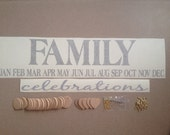 Family Birthday Kit Without Board