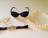"""Audrey Hepburn """"Breakfast At Tiffany's"""" Inspired Accessory Set Baby. Toddler ."""
