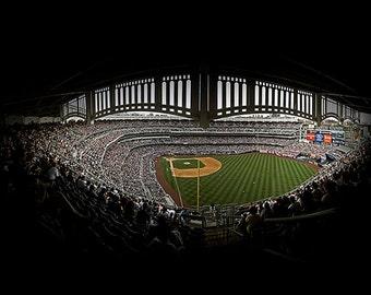 Yankee Stadium Panorama - 10x16 in. - New York Yankees - New York, NY - Wall Art - Wall Decor